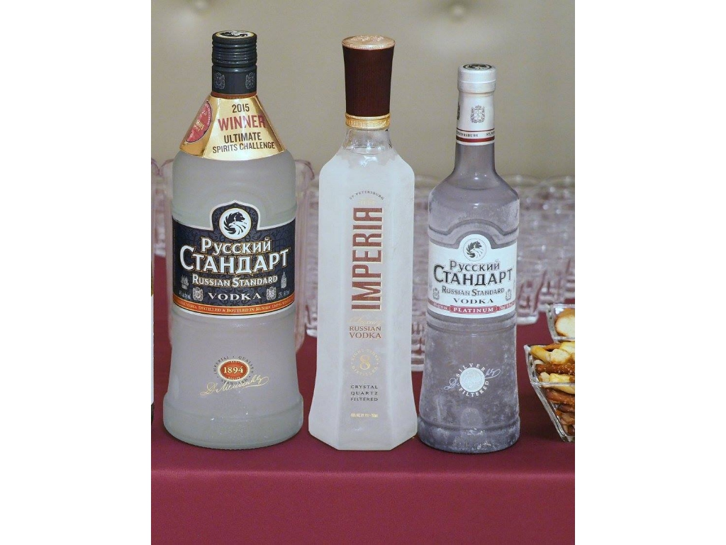 Russian Standard. Chilled and ready!